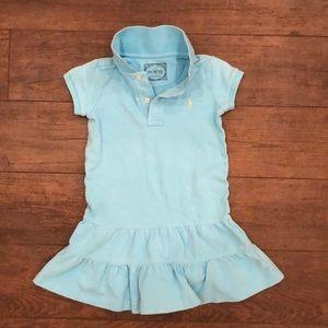 Ralph Lauren Polo Dress- Turquoise, Size 4T
